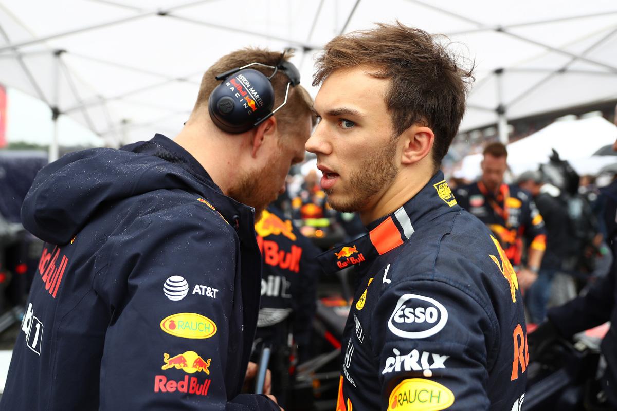 F1 ピエール・ガスリー