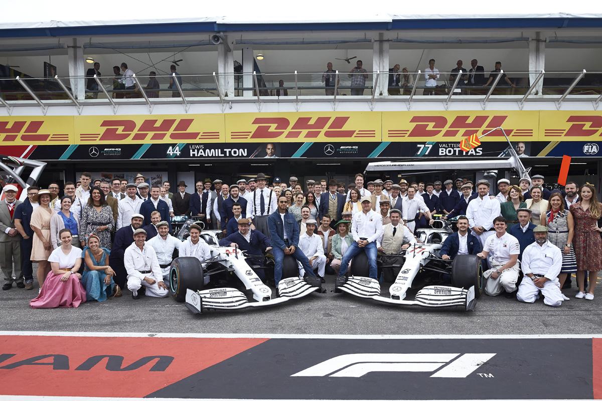 F1 メルセデス ドイツGP