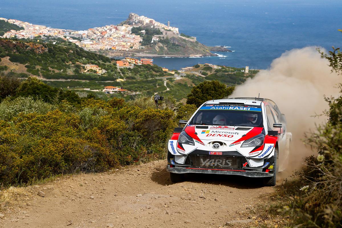 WRC トヨタ リー・フィンランド