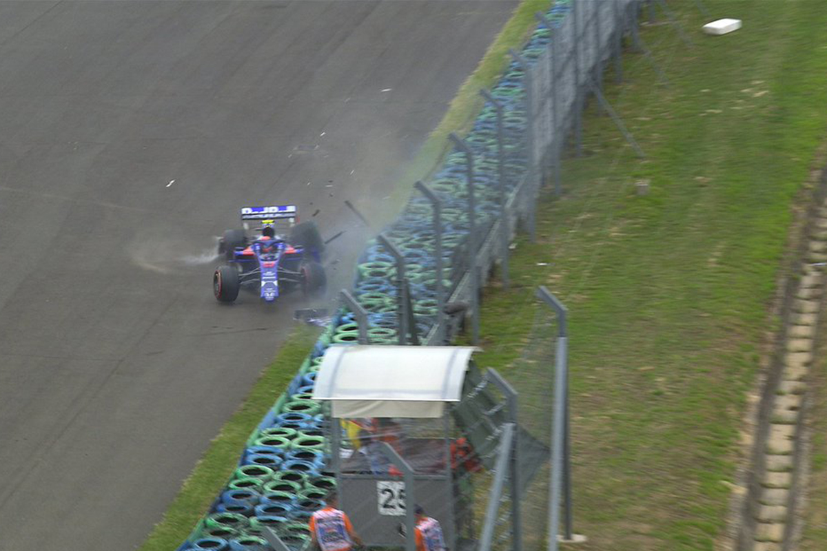 F1 アレクサンダー・アルボン ハンガリーGP