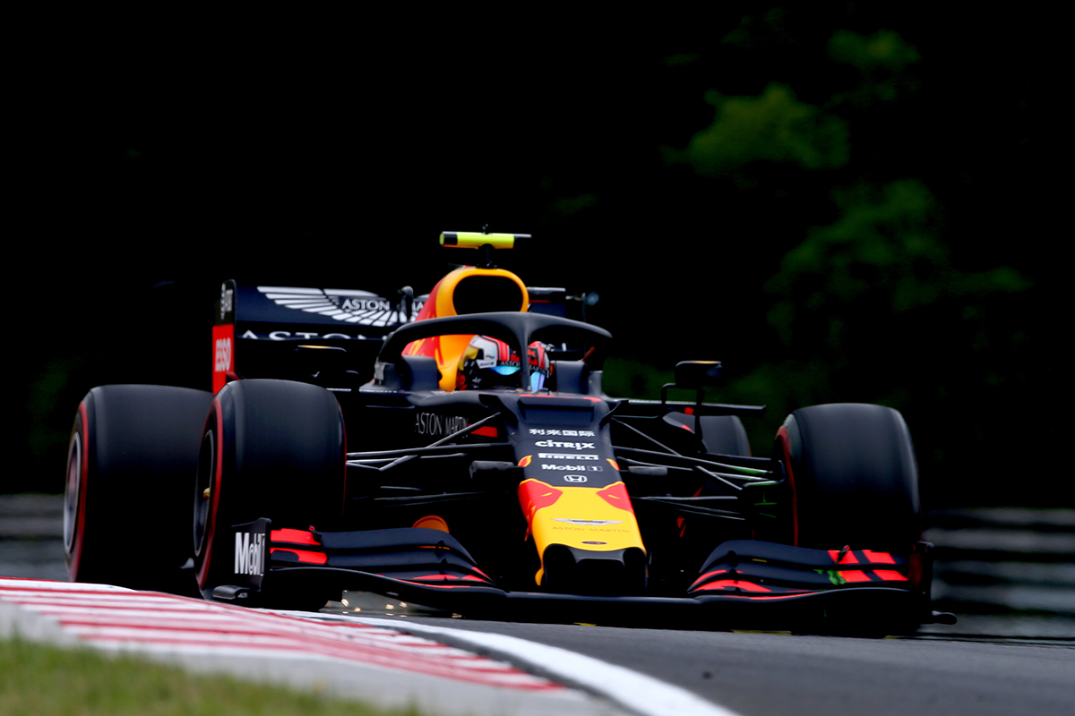 F1ハンガリーGP フリー走行2回目 ピエール・ガスリーがトップタイム