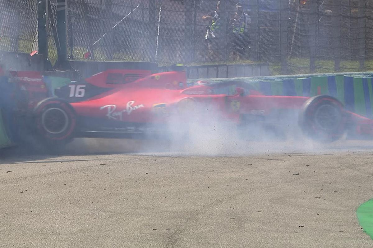 F1 シャルル・ルクレール ハンガリーGP