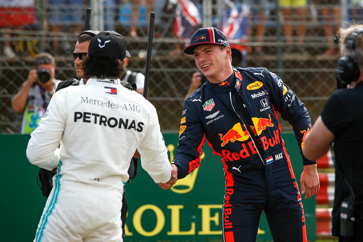 F1 ルイス・ハミルトン レッドブル・ホンダ