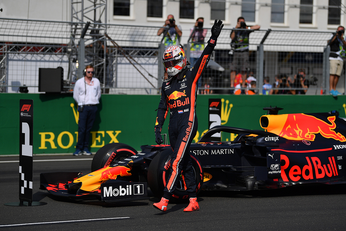 F1 レッドブル・ホンダ ハンガリーGP