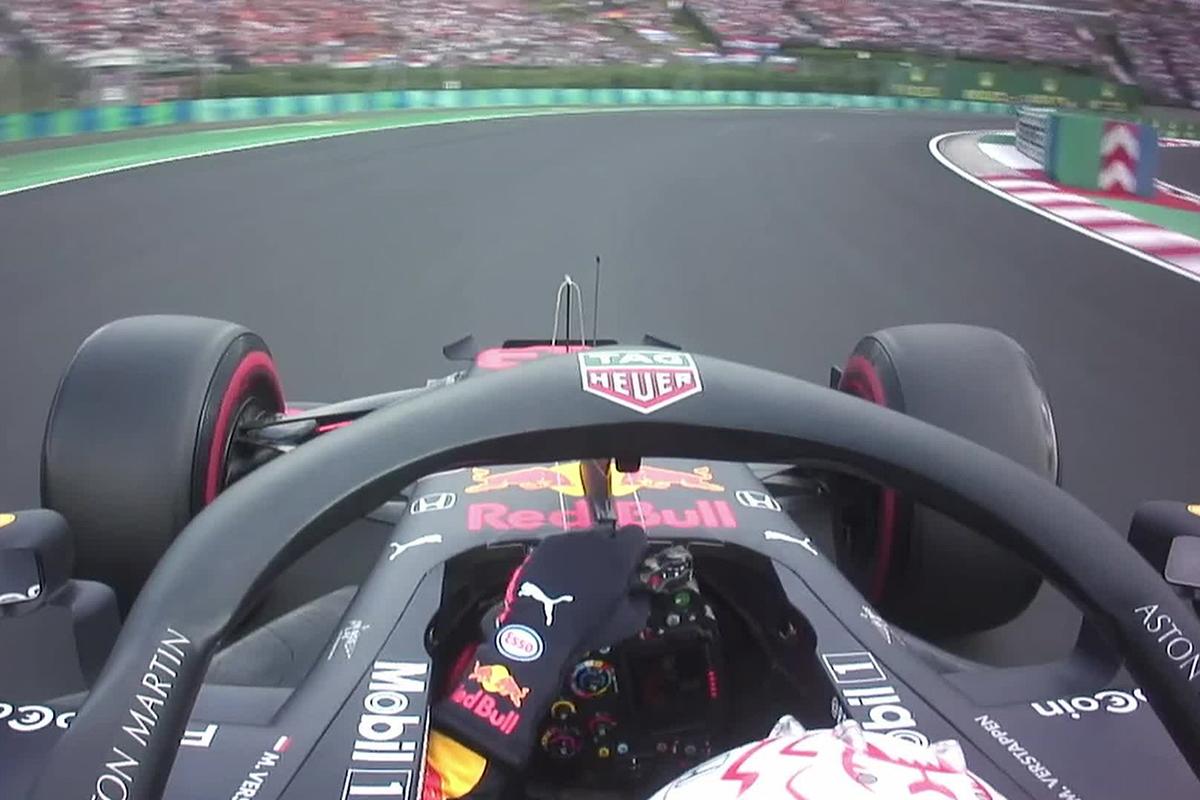F1 マックス・フェルスタッペン ハンガリーGP