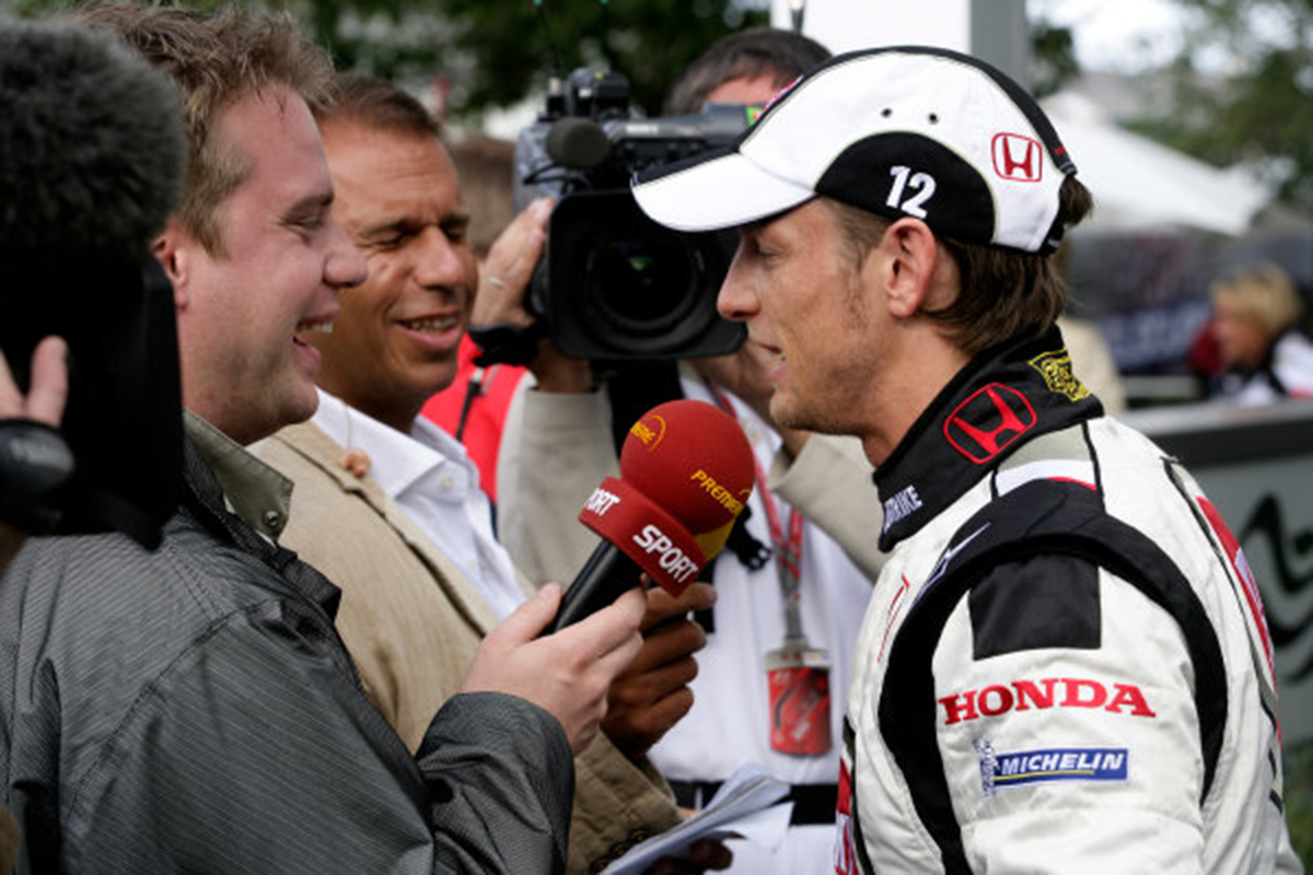 F1 ジェンソン・バトン ホンダF1