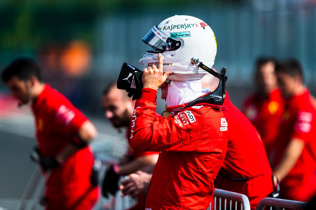 F1 セバスチャン・ベッテル ホンダF1