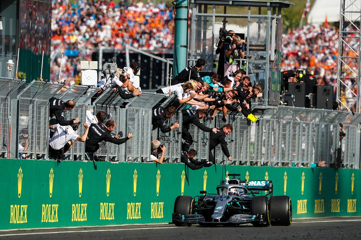 2019年 F1 ハンガリーGP 決勝
