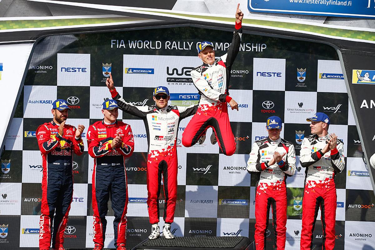 WRC トヨタ ラリー・フィンランド