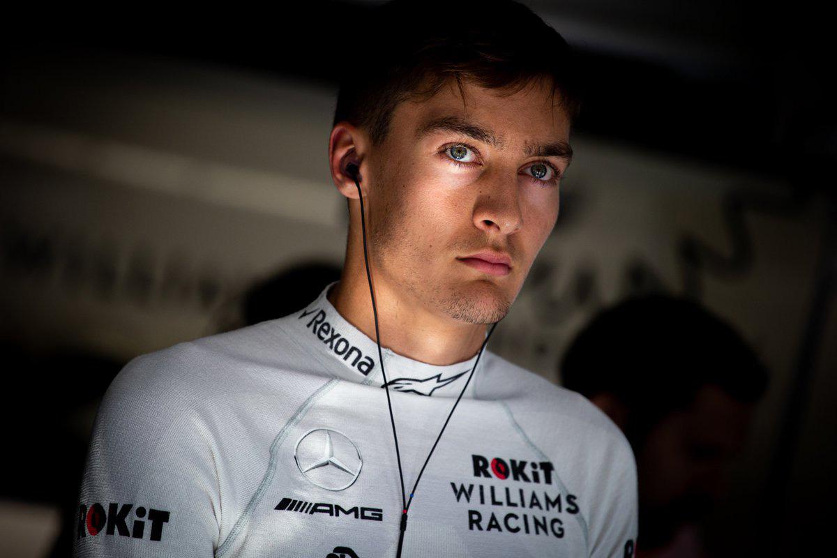 F1 メルセデス ジョージ・ラッセル