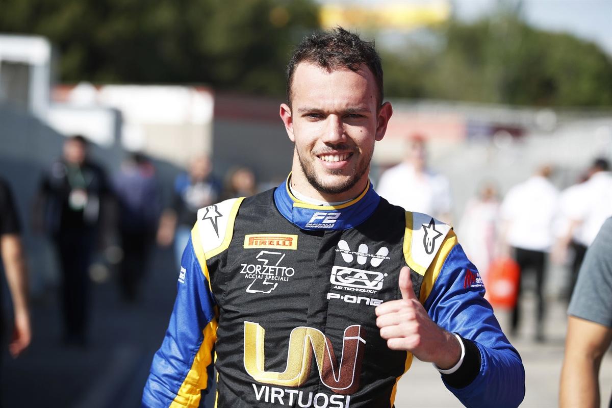 F1 ルカ・ギオット トロロッソ・ホンダ