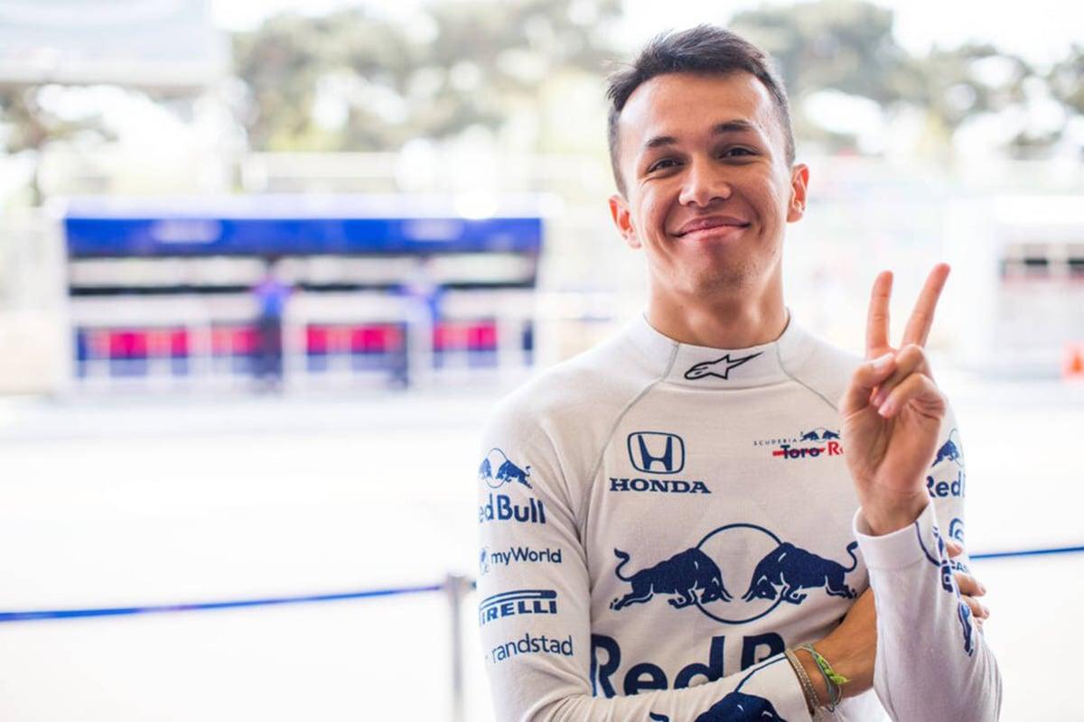 F1 アレクサンダー・アルボン