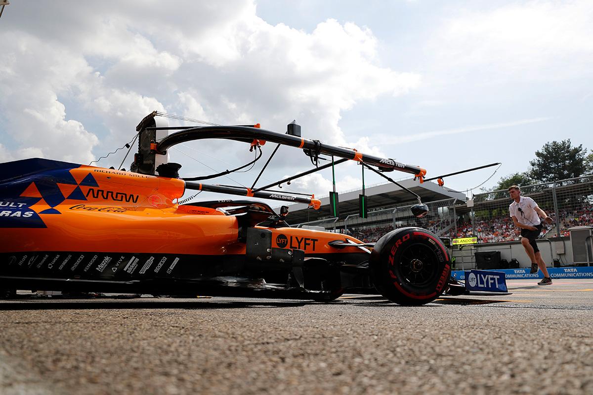 F1 マクラーレン インディカー