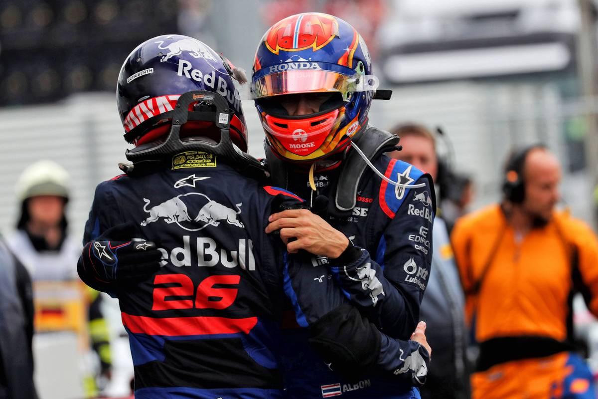 F1 アレクサンダー・アルボン ダニール・クビアト
