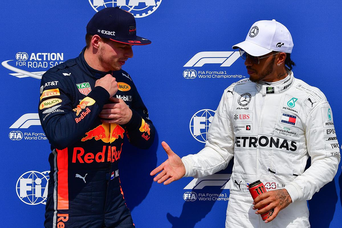 F1 マックス・フェルスタッペン ルイス・ハミルトン
