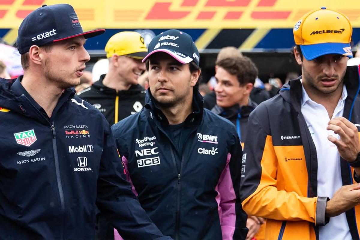 F1 カルロス・サインツ マックス・フェルスタッペン