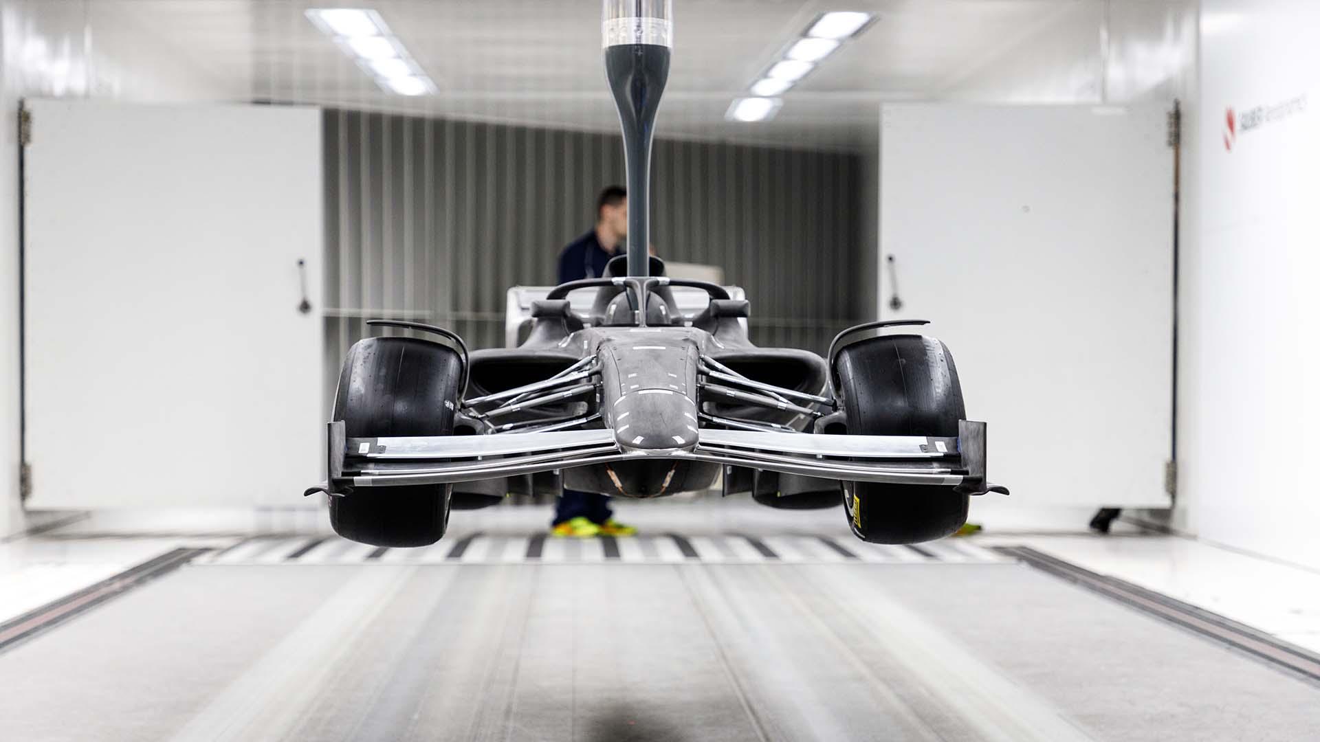 2021年F1マシン 風洞モデル②