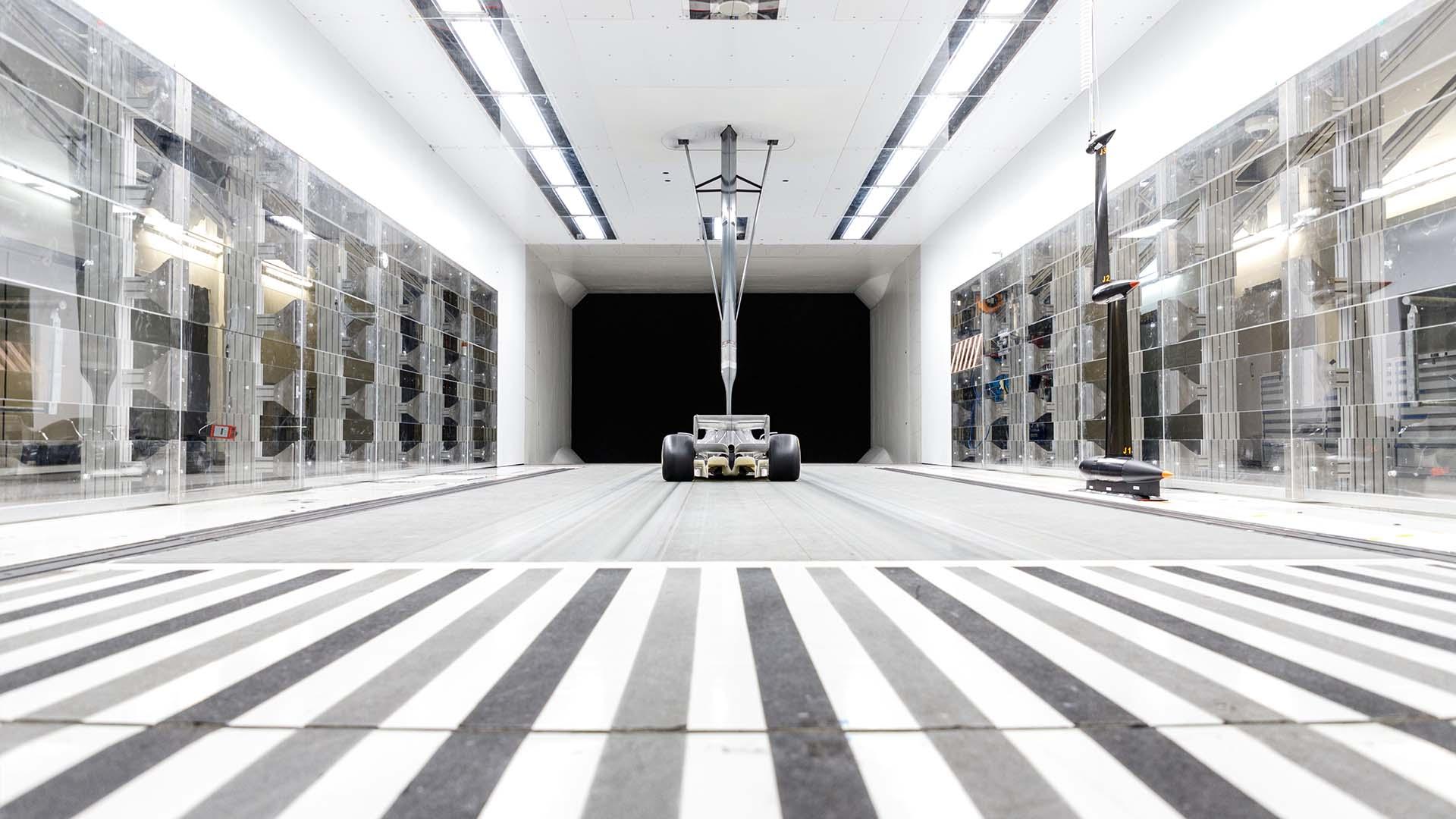 2021年F1マシン 風洞モデル④