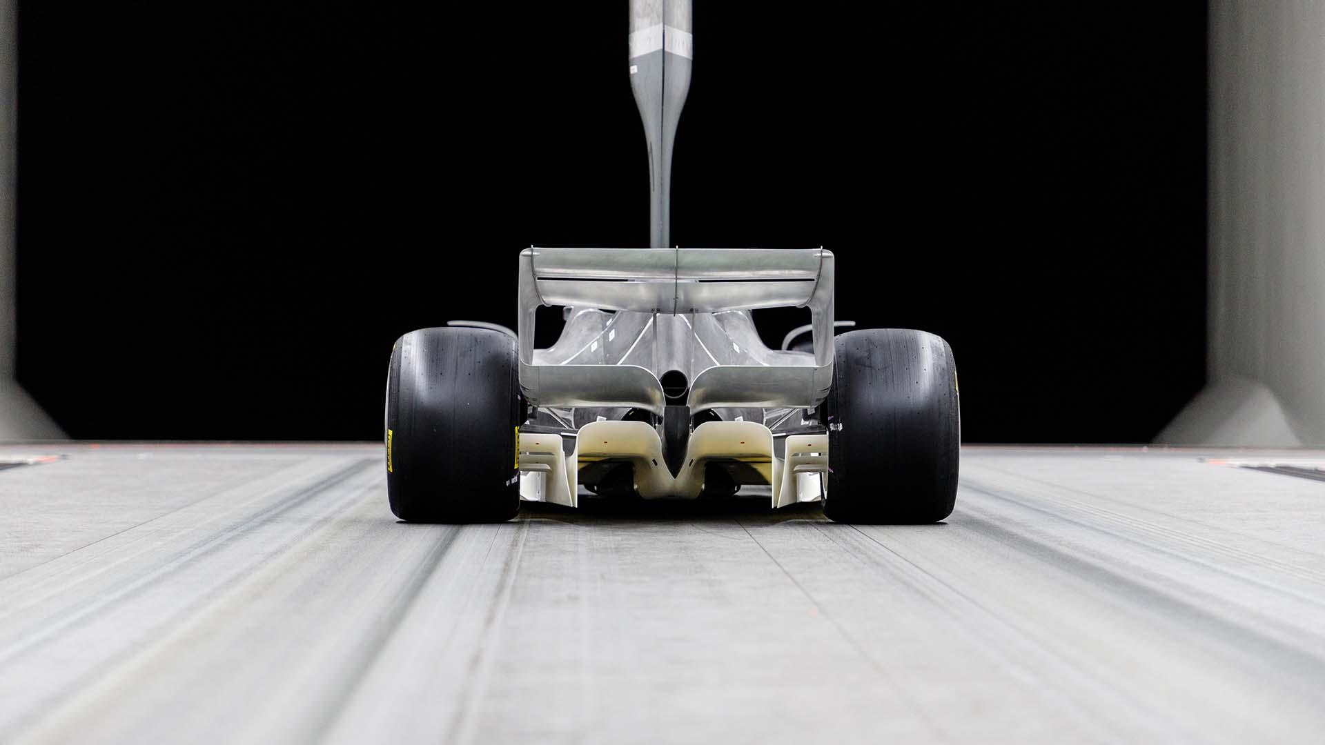 2021年F1マシン 風洞モデル⑤