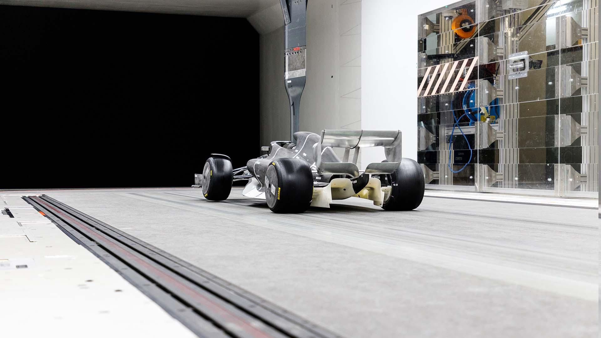 2021年F1マシン 風洞モデル⑥