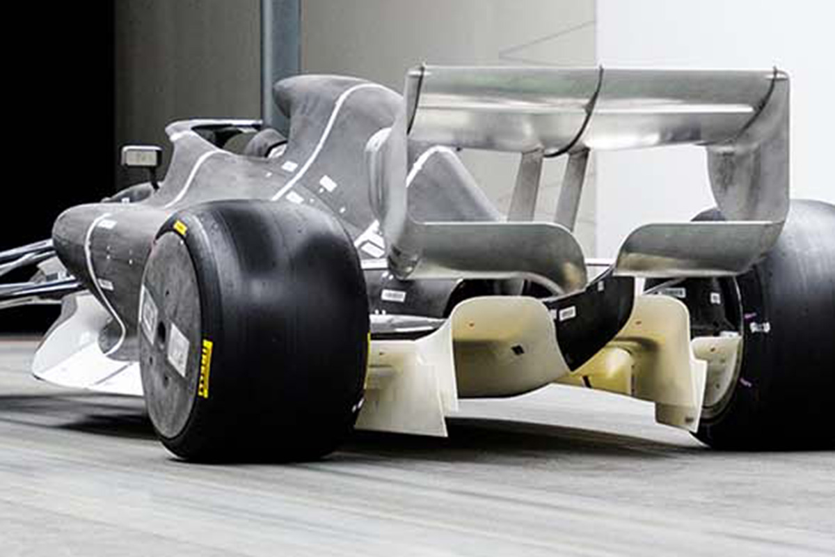 2021年F1マシン:ディフューザー