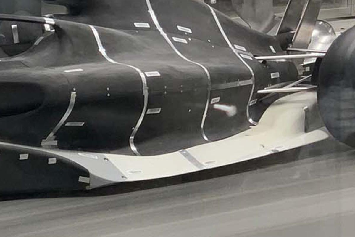 2021年F1マシン:グランドエフェクト・フロア