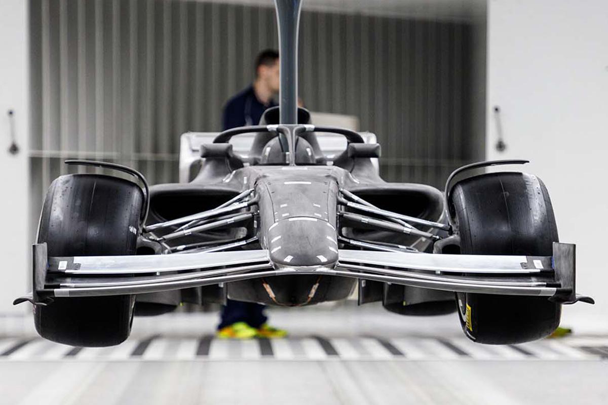 2021年F1マシン:フロントウイング