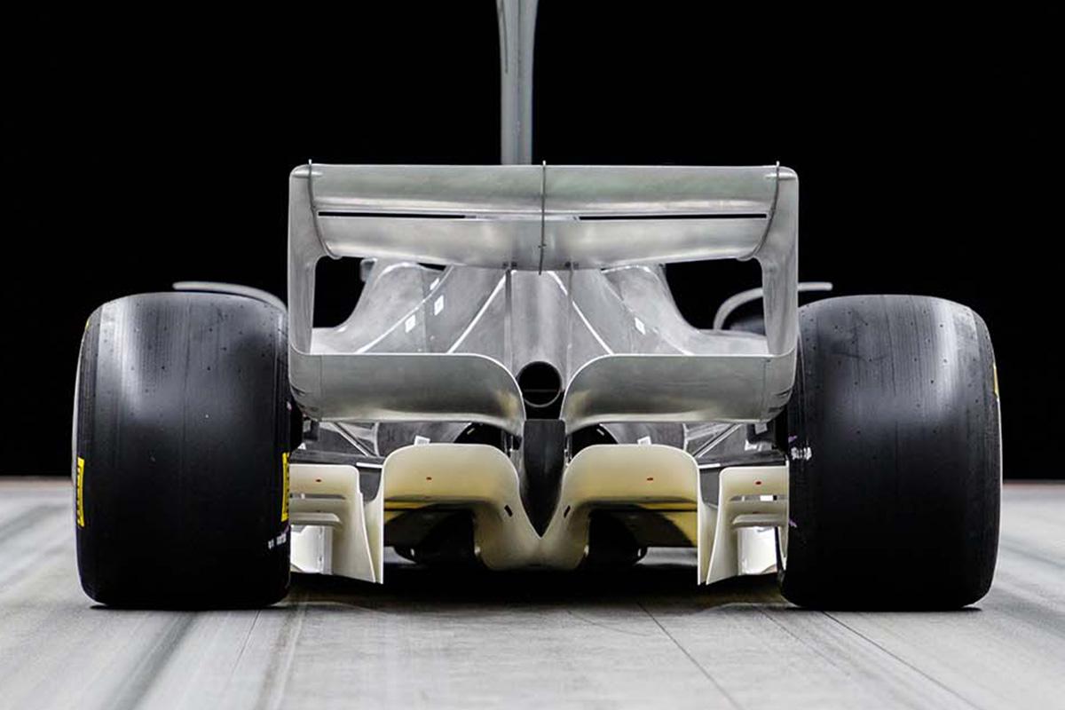 2021年F1マシン:リア