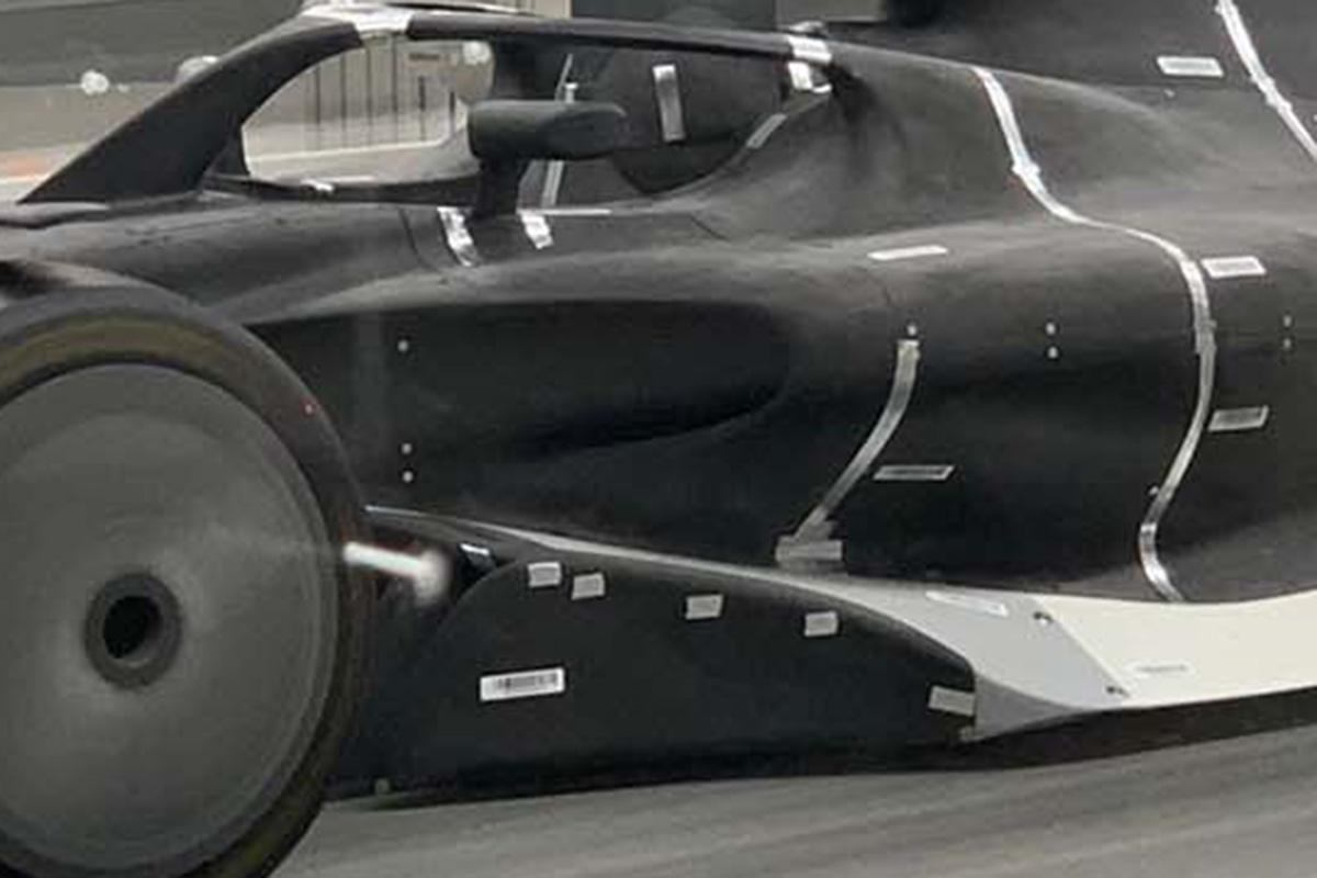2021年F1マシン:サイドポッド