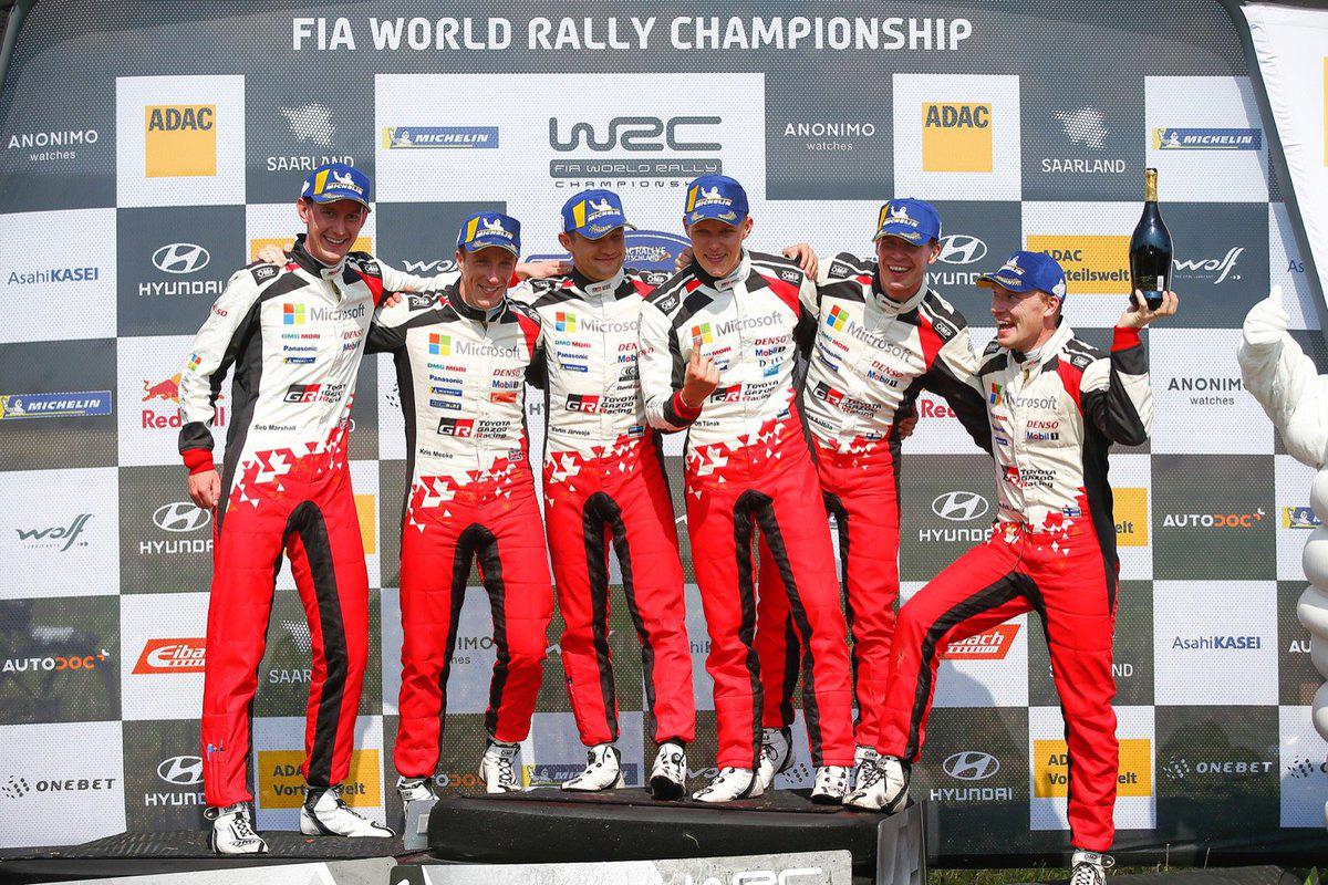 トヨタ WRCラリー・ドイチェランド