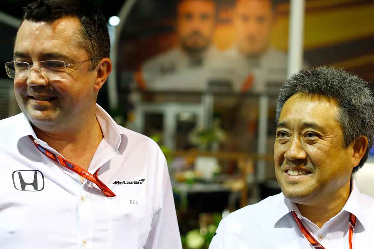 F1 ホンダF1 マクラーレン・ホンダ