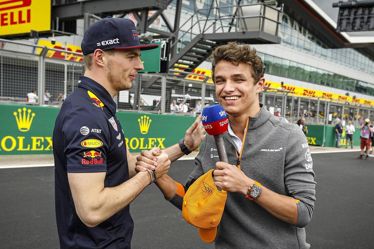 F1 ランド・ノリス マックス・フェルスタッペン