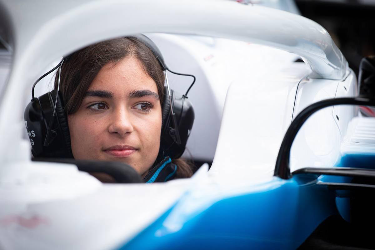 F1 ジェイミー・チャドウィック