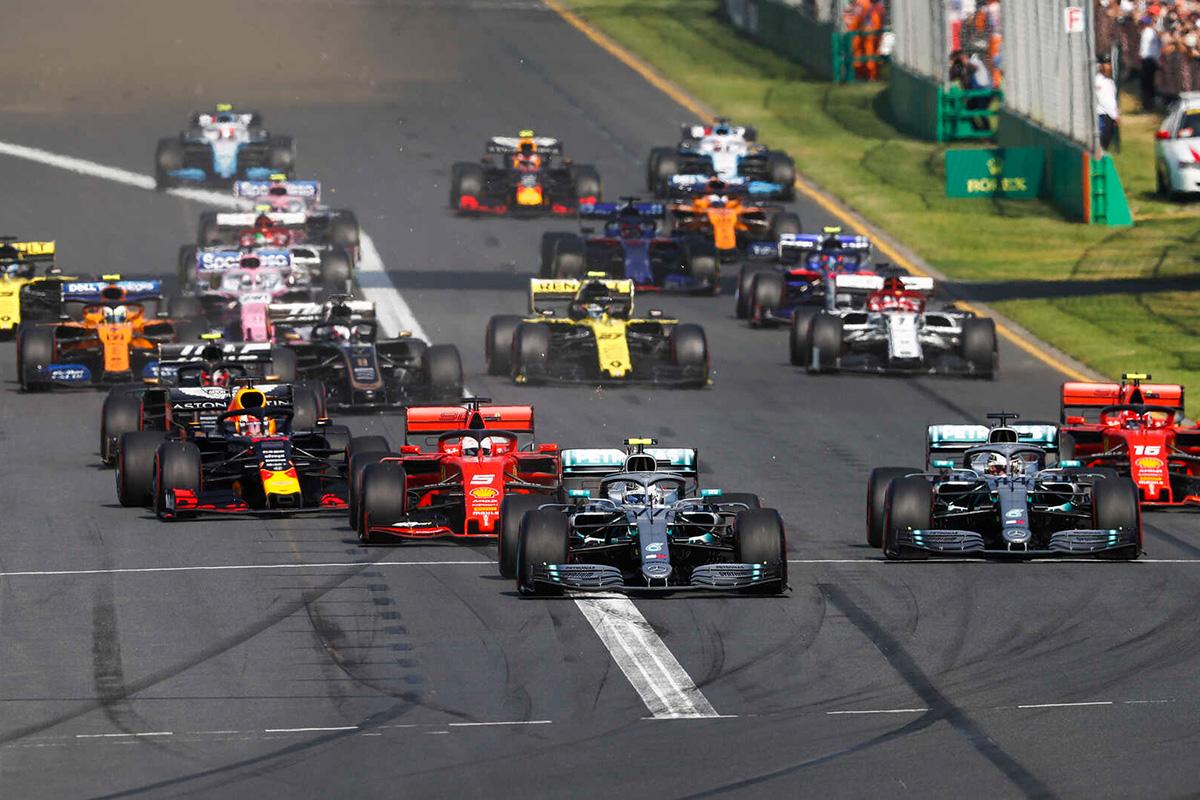 F1 2020年のF1世界選手権