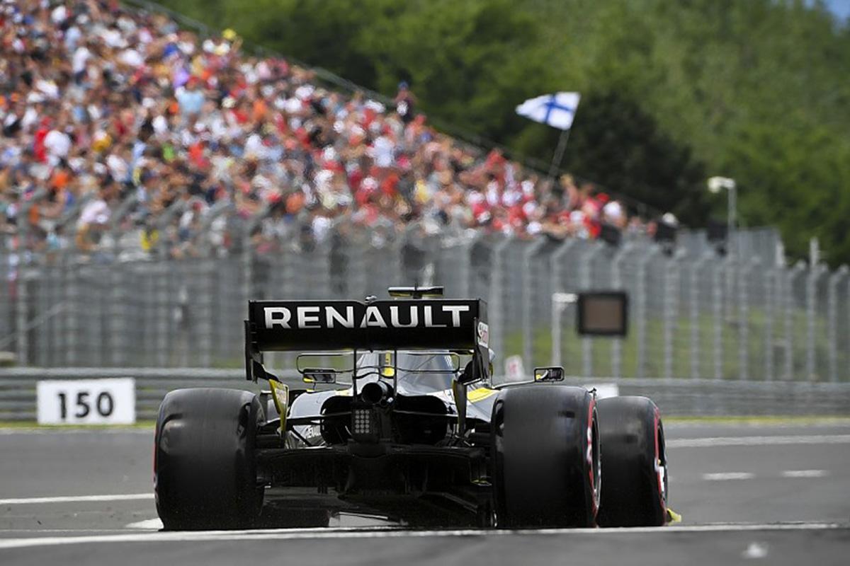 F1 ルノーF1 ベルギーGP