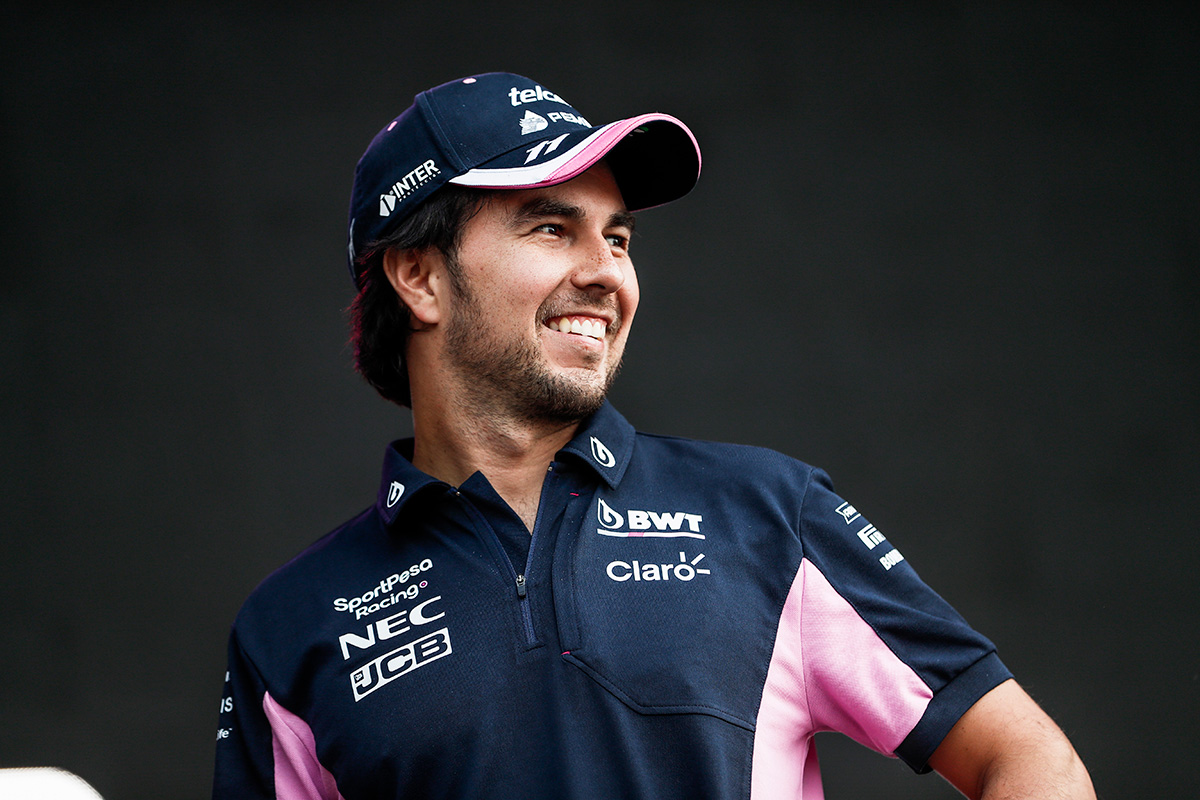 F1 セルジオ・ペレス レーシング・ポイントF1チーム