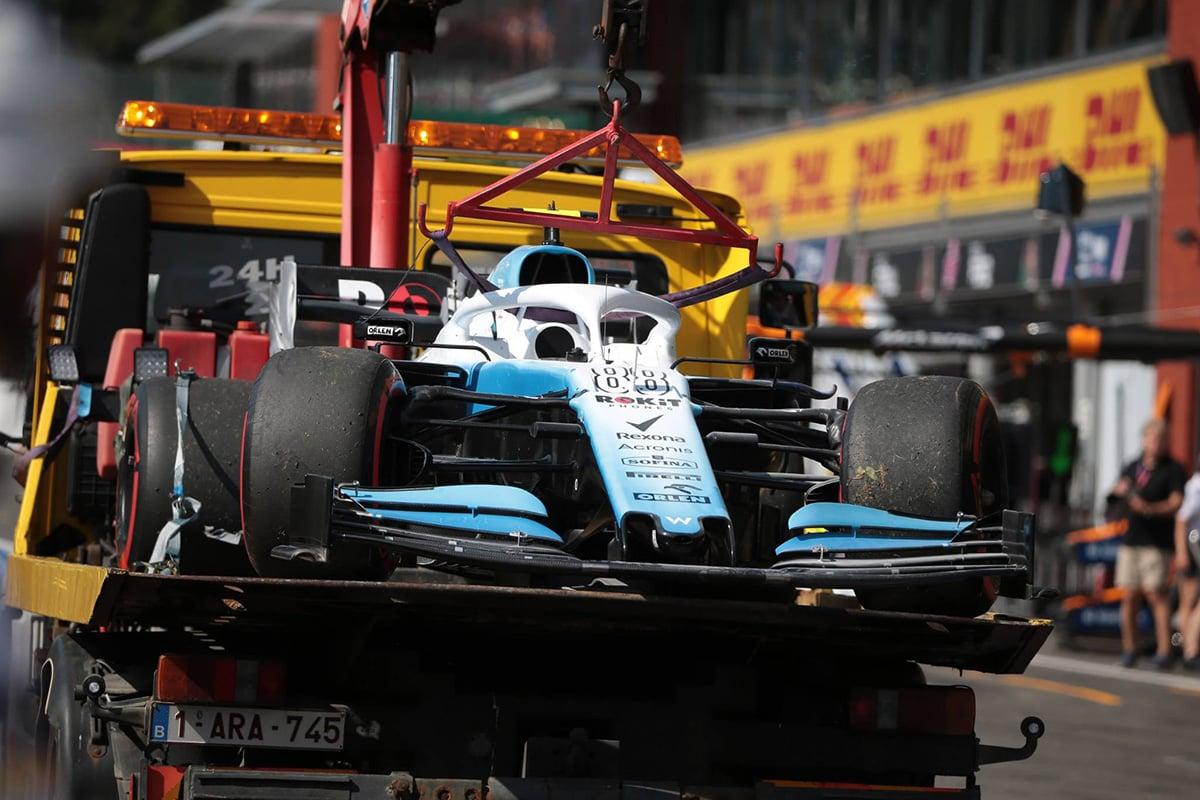 F1 ロバート・クビサ ベルギーGP