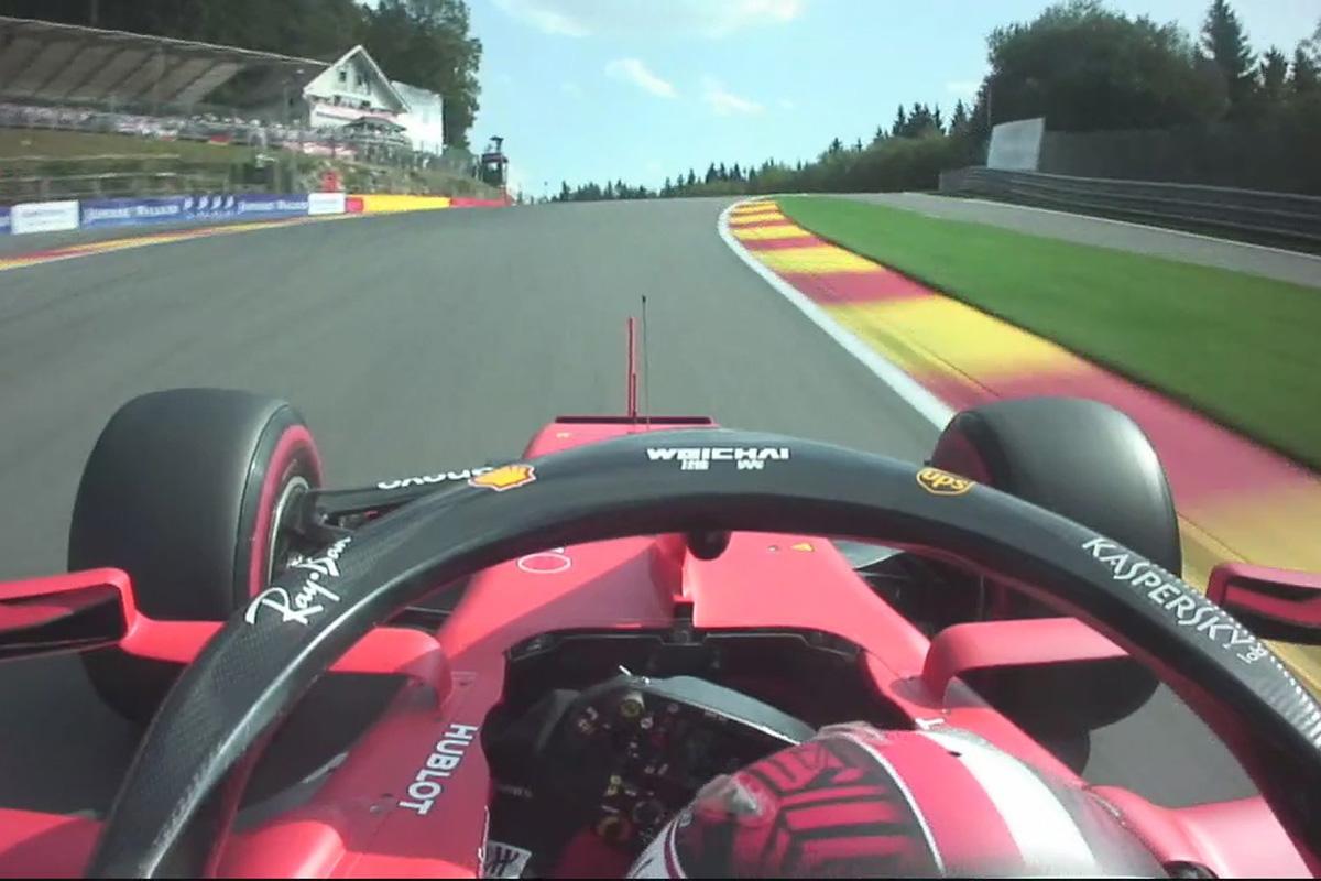 F1 シャルル・ルクレール ベルギーGP