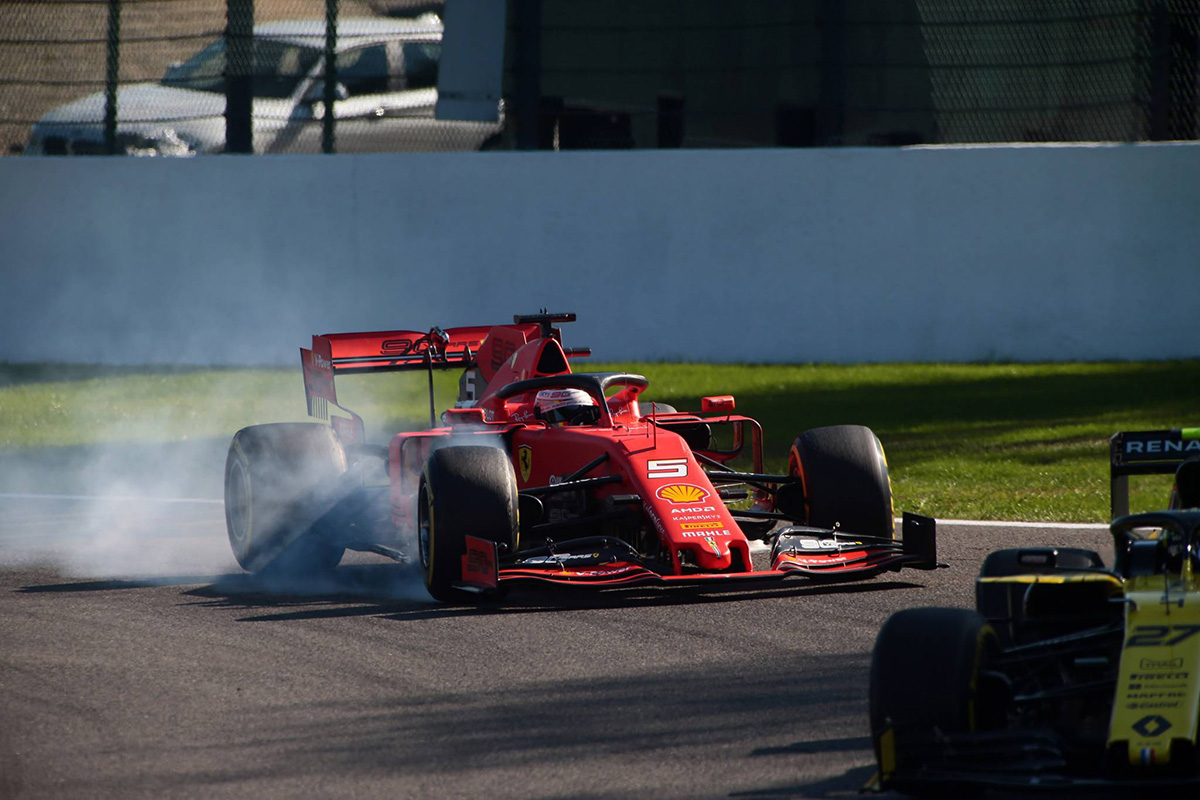 F1 セバスチャン・ベッテル ベルギーGP