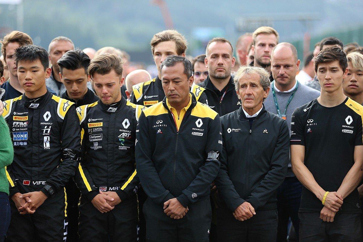 F1 アラン・プロスト アントワーヌ・ユベール