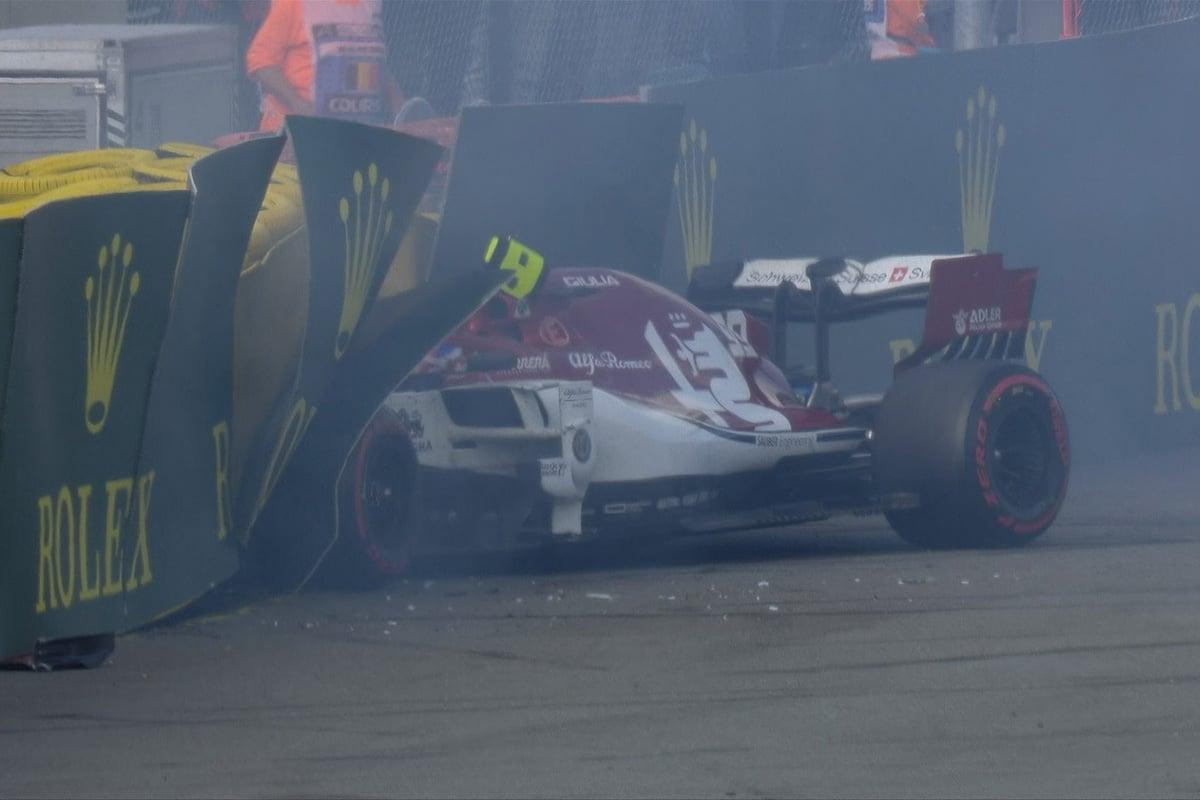 F1 アントニオ・ジョビナッツィ ベルギーGP