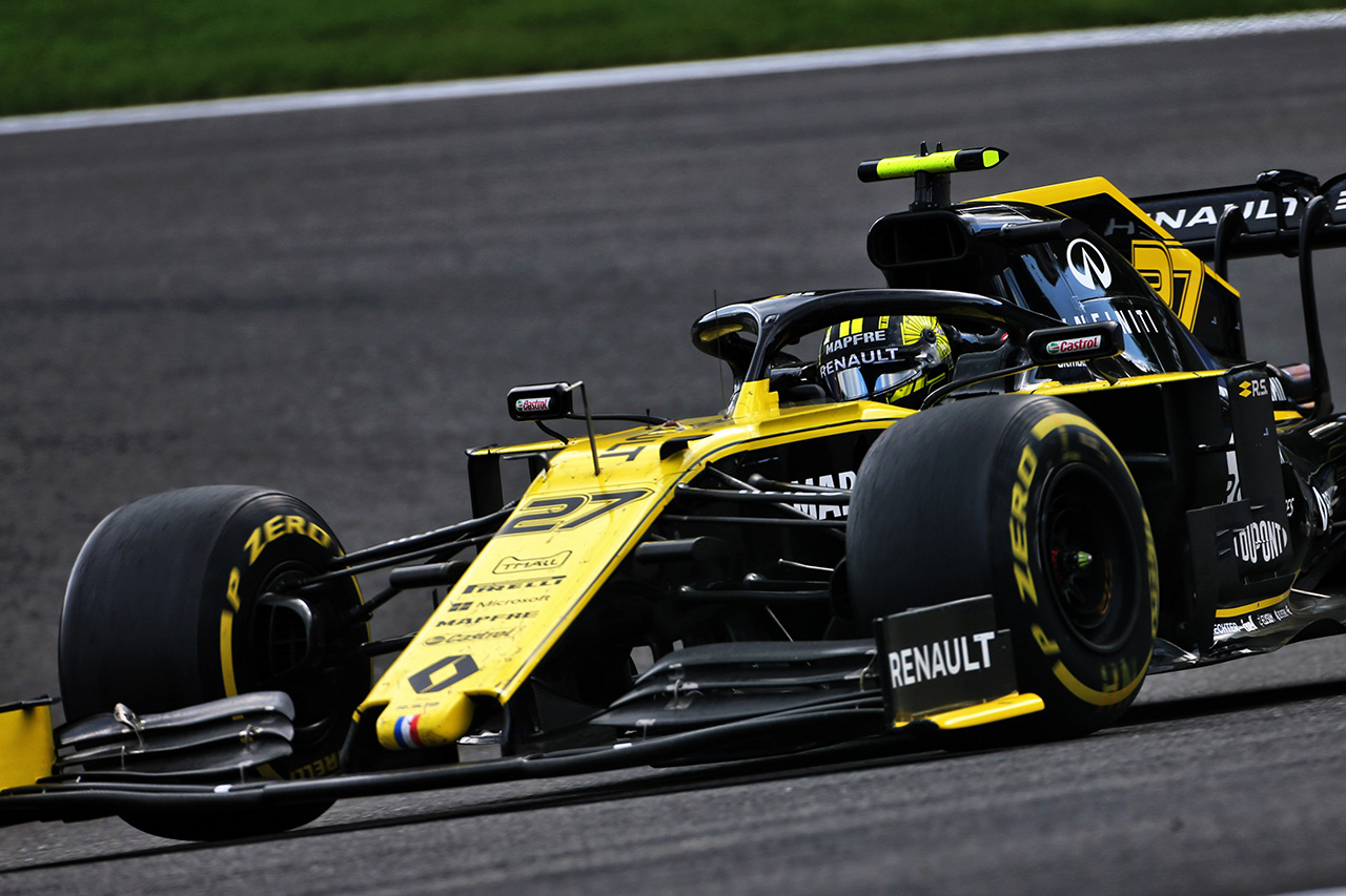 F1 ルノーF1チーム ベルギーGP