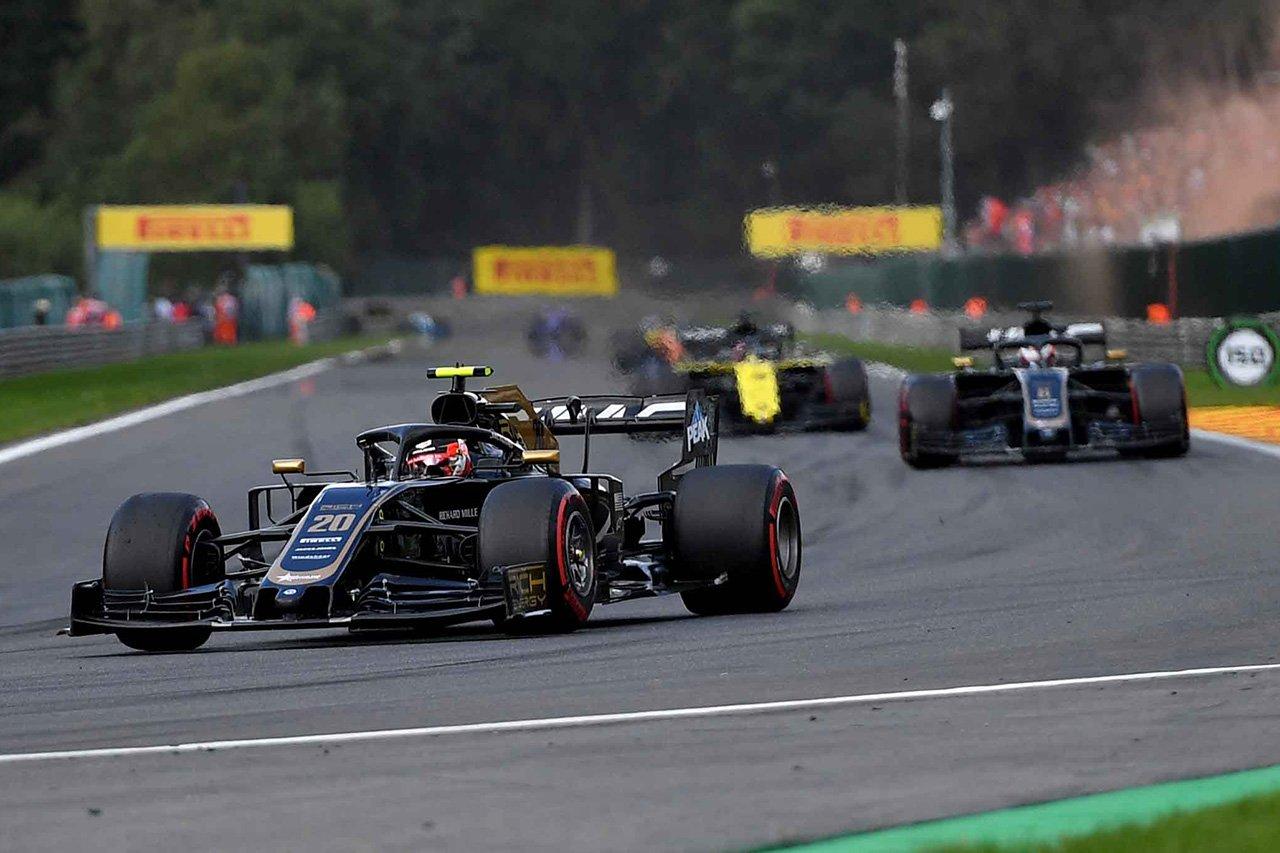 F1 ハースF1チーム ベルギーGP