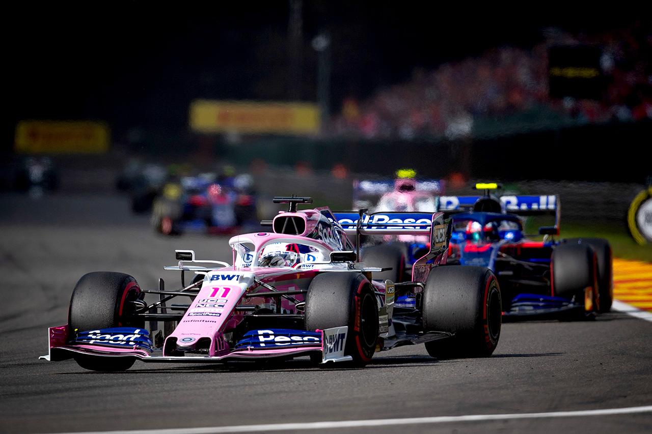 F1 レーシング・ポイントF1チーム ベルギーGP