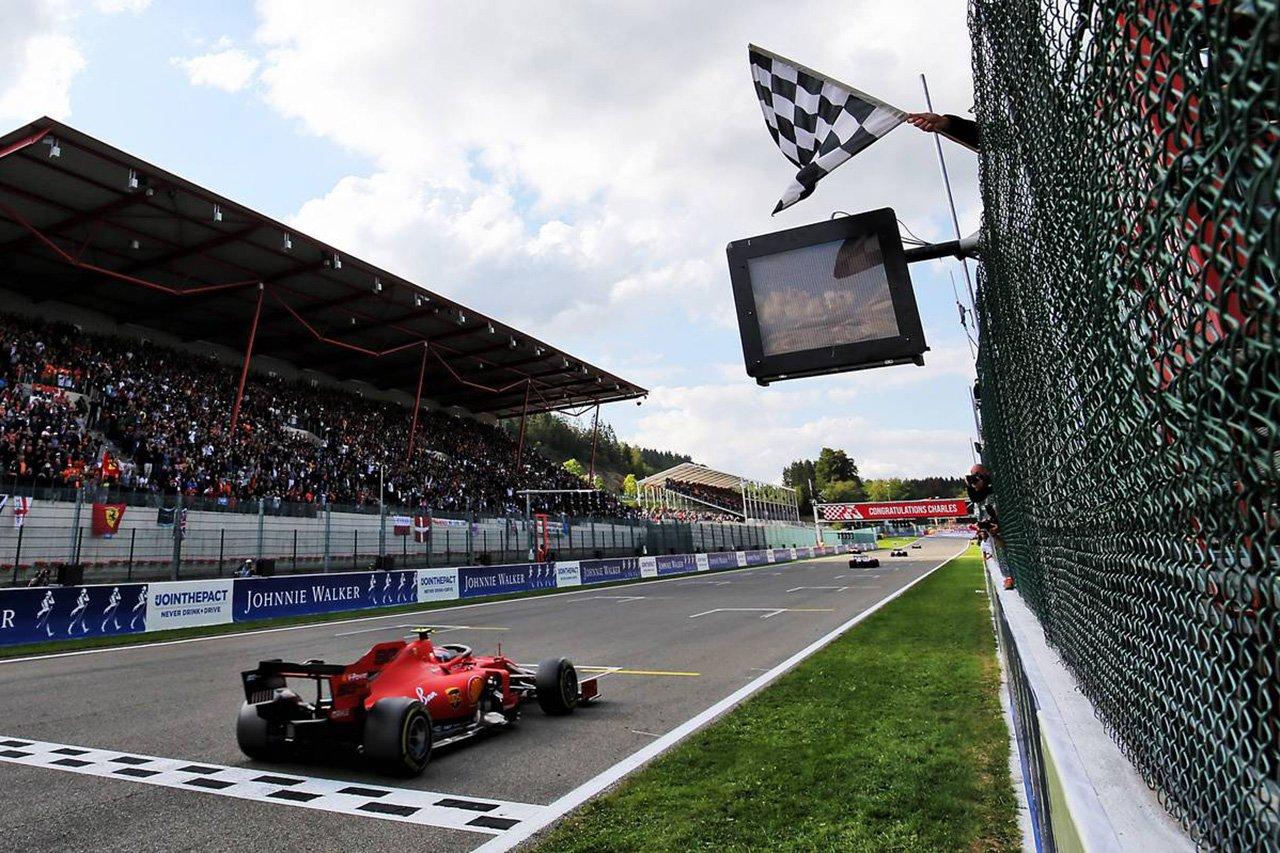 2019年 F1 ベルギーGP 決勝 ピレリ タイヤ戦略解説