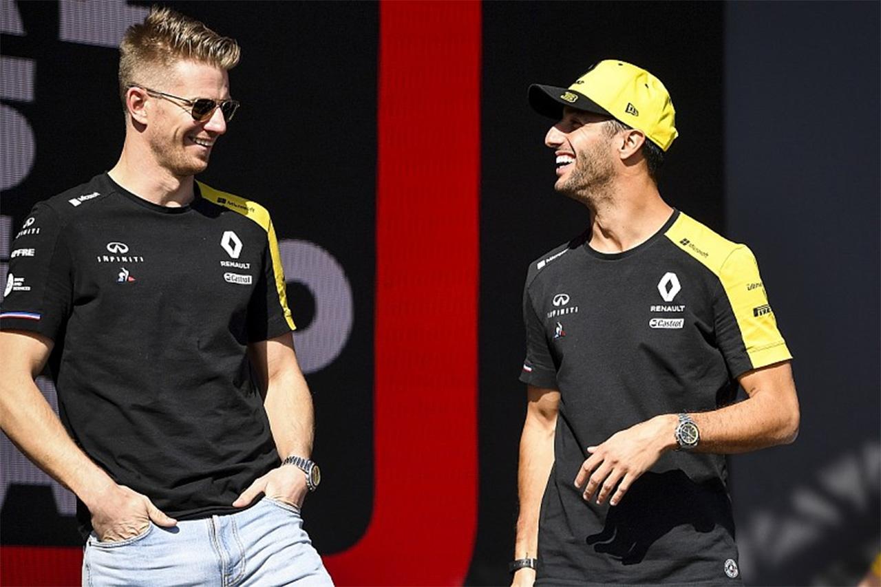 F1 ダニエル・リカルド「ヒュルケンベルグがシートを見つけられることを願う」