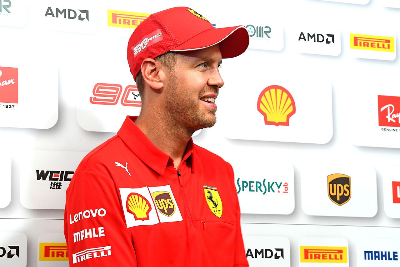F1 セバスチャン・ベッテル 「フェラーリにいることに幸せを感じている」