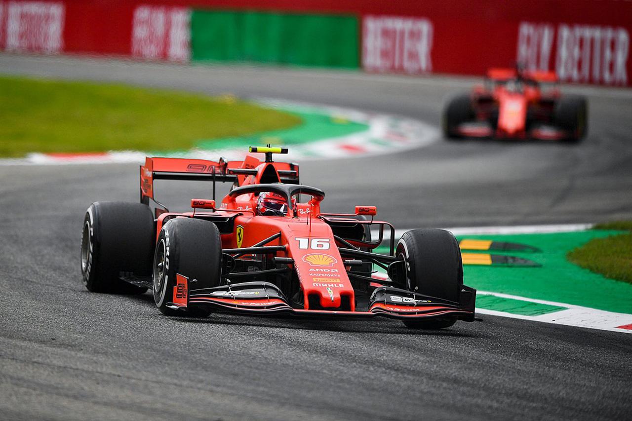 F1イタリアGP フリー走行2回目