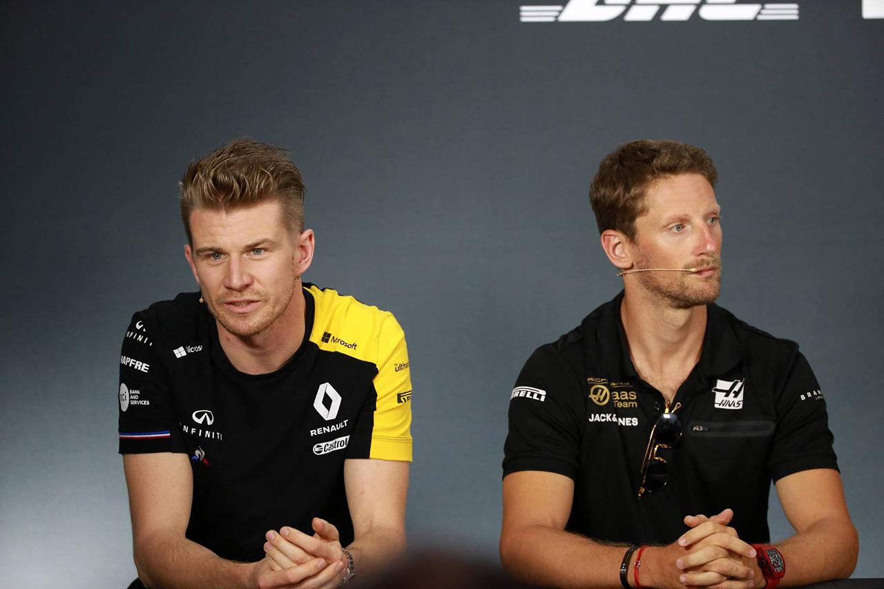 ハースF1 「2人目のドライバー候補はグロージャンとヒュルケンベルグ」