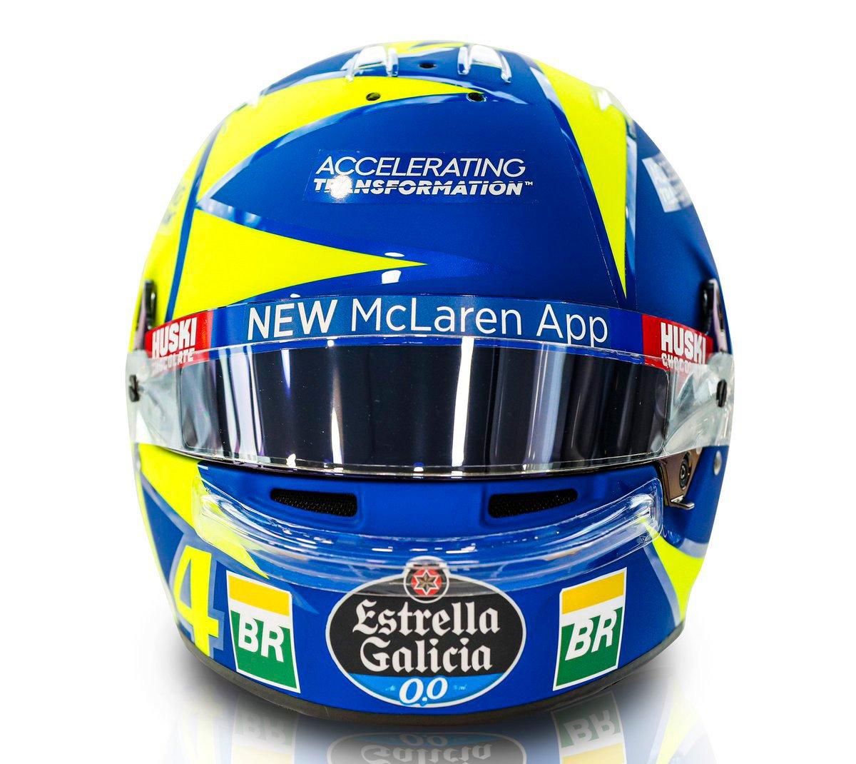 ランド・ノリス F1イタリアGP ヘルメット